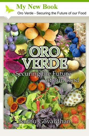 My New Book: Oro Verde - Securing the Furture of our Food